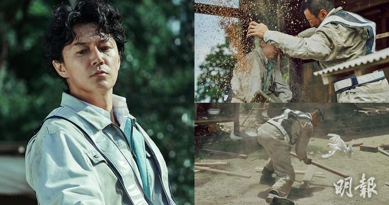 ▼吴宇森先前的作品中时常可见鸽子飞舞的场景,这次在《追捕》中也不图片